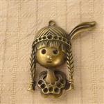古銅色配件輕靈之森手工療癒系‧印第安女孩