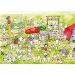 hahahana 設計明信片|兔子新樂園