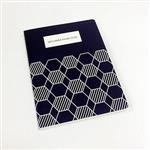 [imSTONE石頭紙禮品]護照型筆記本-六角藍格