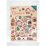 鬼畫福 貼紙組合包(24張入)-聖誕法鬥