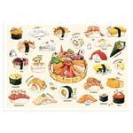 afu尋夢者森林明信片《H05 貓咪美食家-日本壽司篇》