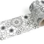 【i-tape】MIT和紙膠帶.著色系列-花花