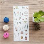 雜貨小物(文房具)手帳貼紙