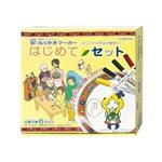 KOBARU陶瓷彩繪筆5色裝紀念盤展架組(雙頭)