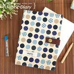 uhplus Fabric Diary 布手帳- 藍色小宇宙