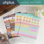 uhplus Deco Sticker 裝飾貼紙組-生活