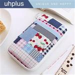 uhplus 夾心包收納包(筆袋)- 田園小情歌