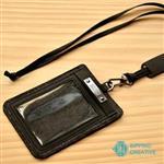 俬品創意 - 設計款紙革證件套-極簡黑