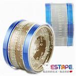 【ESTAPE】抽取式OPP封口透明膠帶-藍(32入)