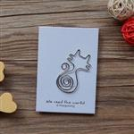 龐克貓‧迴魂針造型書籤卡