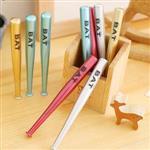 BAT仿鋁合金球棒造型中性筆/水性筆(隨機出貨)