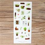 陽光花園‧手帳裝飾貼紙