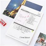 韓國重點計畫確認表/計畫本/備忘錄(中號)