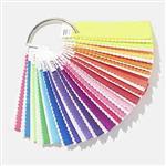 PANTONE F+H系列 紡織色票布版-螢光尼龍布 共21色 TN