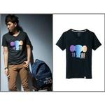 T-shirt(炫光風扇涼感)-大耳查布XL