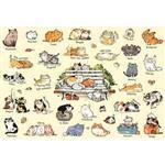 貓咪的100種生活之二(作者:afu) 300P拼圖