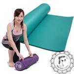 《Fun Sport》NBR環保瑜珈墊(10mm)綠色61*180-★送束帶+背袋