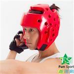 ~Fun sport~~武術跆拳~跆拳道護頭^(20mm厚^) AO~200