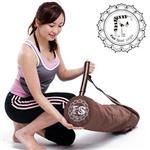 《Fun Sport》立樂沛(咖)。加寬型瑜珈墊專業背袋
