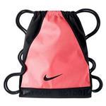 【Nike】時尚永恆風格Varsity後背包-粉橘黑色【預購】