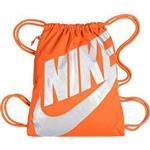 【Nike】時尚大Logo標誌小後背包-橘色【預購】