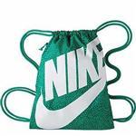 【Nike】時尚大LOGO運動休閒小後背包-綠色【預購】