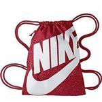 【Nike】時尚大LOGO運動休閒小後背包-紅色【預購】