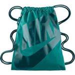 【Nike】時尚Logo標誌抽繩小背包-深翠綠色【預購】