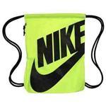 【Nike】時尚Logo標誌抽繩小背包-伏綠色【預購】