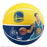 SPALDING 斯伯丁 NBA 球員球 勇士 柯瑞 Curry 籃球 7號