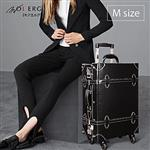 【MOIERG】Vintage Feel愛上復古潮旅行plain trunk(M-19吋)Black