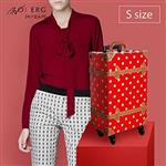 【MOIERG】Polka Dots復古水玉假期combi trunk(S-17吋)Red