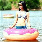 甜甜圈120cm游泳圈-草莓