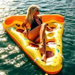披薩浮排水上床墊