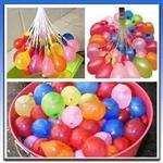 【超值3入】夏日派對快速充水水球