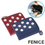FENICE-點點造型證件紙鈔零錢包