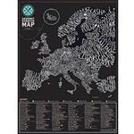 【Luckies】我的地圖刮刮樂 歐洲地圖篇-美食版