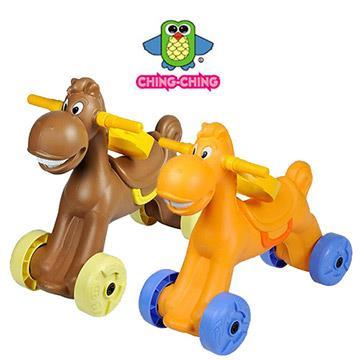 【親親Ching Ching】小馬學步車 (兩色可選) CA-20