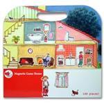 【 Babytiger虎兒寶 】比利時 Egmont Toys 艾格蒙繪本風遊戲磁貼書 - 快樂家庭