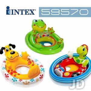 【INTEX】動物造型嬰兒座圈-款式隨機 59570