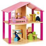 木製夢想娃娃小屋