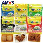 【Babytiger虎兒寶】韓國AMOS 6色 50克 袋裝超輕黏土