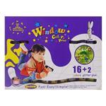 【BabyTiger虎兒寶】愛玩色 兒童無毒彩繪玻璃貼- 盒裝組 16+2 色-台灣製
