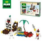 【BabyTiger虎兒寶】加加積木 Mini小顆粒-彩紅系列海盜 360pcs (盒裝)