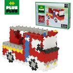 【BabyTiger虎兒寶】加加積木 Mini小顆粒-彩紅系列消防車760pcs (盒裝)