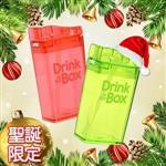 【Drink in the box】Tritan兒童運動吸管杯-聖誕2入組