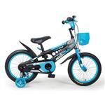 寶貝樂精選 精靈寶貝16吋腳踏車-藍黑