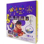 【BabyTiger虎兒寶】愛玩色 兒童無毒彩繪玻璃貼-盒裝組 10+2 色-台灣製