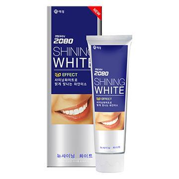 【韓國2080】三重亮白修護牙膏(100gX2入)