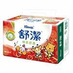 【舒潔】棉柔舒適抽取衛生紙100抽-迪士尼年節包 (8包x8串/箱)